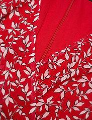 Lauren Ralph Lauren - Print Georgette Dress - robes d'été - lipstick red/col - 2