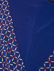 Lauren Ralph Lauren - Print Jersey Surplice Dress - robes de jour - french ultramarin - 2