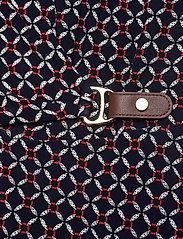 Lauren Ralph Lauren - Print Buckle-Trim Jersey Dress - hverdagskjoler - lh navy/red/multi - 3