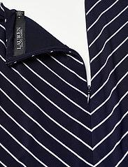 Lauren Ralph Lauren - Striped Elbow-Sleeve Jersey Dress - sommerkjoler - lh navy/colonial - 3