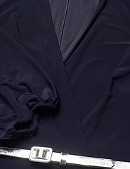 Lauren Ralph Lauren - Belted Surplice Jersey Dress - cocktailkjoler - lighthouse navy - 3