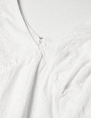 Lauren Ralph Lauren - Embroidered Cotton Drop-Waist Dress - sukienki dopasowane - lauren white - 2