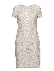 Lace Dress - SANDSTONE/SILVER