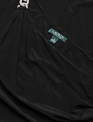 Lauren Ralph Lauren - Jersey One-Shoulder Gown - kveldskjoler - black - 3