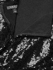 Lauren Ralph Lauren - LUXE TECH CREPE-JUMPSUIT W/COMBO - kombinezony - black - 4