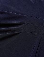 Lauren Ralph Lauren - Georgette-Cape Cocktail Dress - sukienki do kolan i midi - lighthouse navy - 3