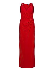 Jersey Sleeveless Dress - ORIENT RED