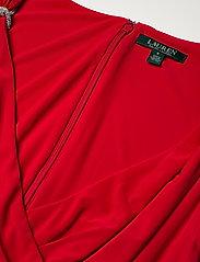 Lauren Ralph Lauren - Jersey Sleeveless Dress - aftenkjoler - orient red - 3