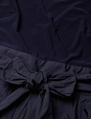 Lauren Ralph Lauren - Sleeveless Taffeta Dress - robes courtes - lighthouse navy - 2