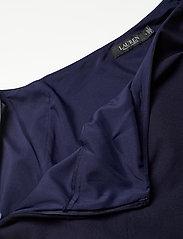 Lauren Ralph Lauren - One-Shoulder Cape Jumpsuit - buksedragter - lighthouse navy - 2