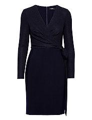 Metallic Jersey Dress - LIGHTHOUSE NAVY