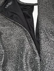 Lauren Ralph Lauren - Metallic Long-Sleeve Jumpsuit - buksedragter - black/silver - 5