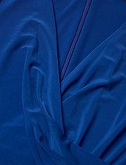 Lauren Ralph Lauren - Ruffle-Trim Jersey Gown - kveldskjoler - sapphire star - 2