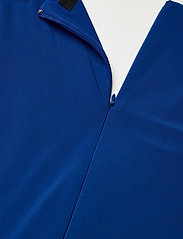 Lauren Ralph Lauren - Ruffle-Trim Jersey Gown - kveldskjoler - sapphire star - 3