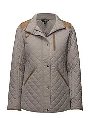 Quilted Mockneck Jacket - CORK