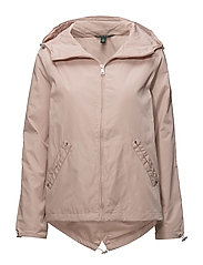 POLYESTER-SYNTHETIC COAT - SOFT MAUVE