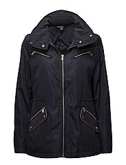 POLYESTER-SYNTHETIC COAT - DK NAVY
