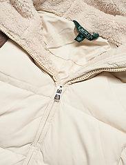 Lauren Ralph Lauren - Quilted Down Jacket - dunkåper - moda cream - 6