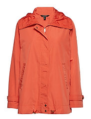 FAUX MEMORY-FEMME COLLAR ANORAK - LADY CORAL