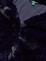 Lauren Ralph Lauren - FAUX FUR-FAUX FURY CHUBBY - sztuczne futro - blue notte - 3