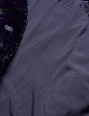 Lauren Ralph Lauren - FAUX FUR-FAUX FURY CHUBBY - sztuczne futro - blue notte - 5