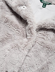 Lauren Ralph Lauren - FAUX FUR-FAUX FURY CHUBBY - sztuczne futro - icy grey - 3