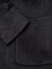 Lauren Ralph Lauren - Wool-Blend Wrap Coat - uldfrakker - black - 4