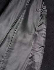 Lauren Ralph Lauren - Wool-Blend Wrap Coat - uldfrakker - black - 5