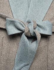 Lauren Ralph Lauren - Reversible Wool-Blend Coat - uldfrakker - grey/blue - 7
