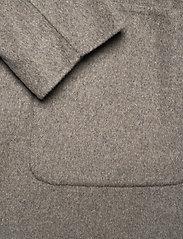 Lauren Ralph Lauren - Reversible Wool-Blend Coat - uldfrakker - grey/blue - 6