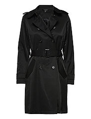 Trench Coat - BLACK