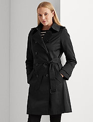 Lauren Ralph Lauren - Trench Coat - trenchcoats - black - 0