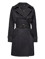 Trench Coat - DARK NAVY