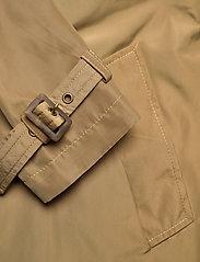 Lauren Ralph Lauren - Taffeta Trench Coat - trenchcoats - sand - 4