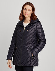 Lauren Ralph Lauren - Packable Down Anorak Coat - dynefrakke - navy - 0