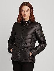 Lauren Ralph Lauren - Down Moto Jacket - doudounes - black - 0