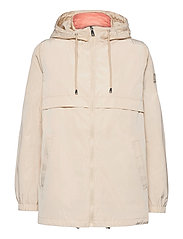 2-in-1 Anorak Coat - BEIGE