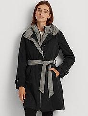 Lauren Ralph Lauren - 2-in-1 Vest and Coat - trenchcoats - black - 0