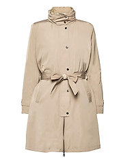 2-in-1 Vest and Coat - TAUPE