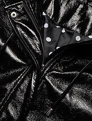 Lauren Ralph Lauren - Hooded Slicker Coat - regnjakker - black - 3