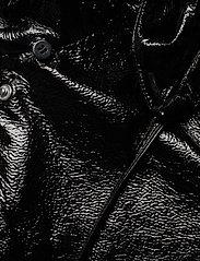 Lauren Ralph Lauren - Hooded Slicker Coat - regnjakker - black - 4