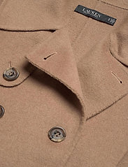 Lauren Ralph Lauren - Wool-Blend Trench Coat - uldfrakker - khaki - 4