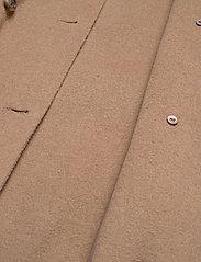 Lauren Ralph Lauren - Wool-Blend Trench Coat - uldfrakker - khaki - 6