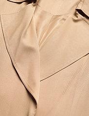 Lauren Ralph Lauren - Wrap-Style Duster Coat - trenchcoats - khaki - 2
