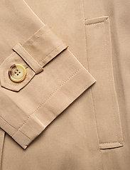 Lauren Ralph Lauren - Wrap-Style Duster Coat - trenchcoats - khaki - 3