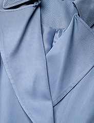 Lauren Ralph Lauren - Wrap-Style Duster Coat - trenchcoats - slate blue - 3