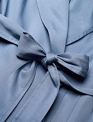 Lauren Ralph Lauren - Wrap-Style Duster Coat - trenchcoats - slate blue - 4