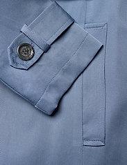 Lauren Ralph Lauren - Wrap-Style Duster Coat - trenchcoats - slate blue - 5