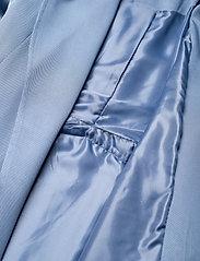 Lauren Ralph Lauren - Wrap-Style Duster Coat - trenchcoats - slate blue - 6