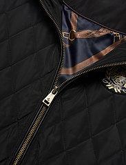 Lauren Ralph Lauren - Quilted Crest Vest - puffer vests - black - 3